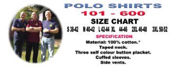 Polo Shirts 101 - 600